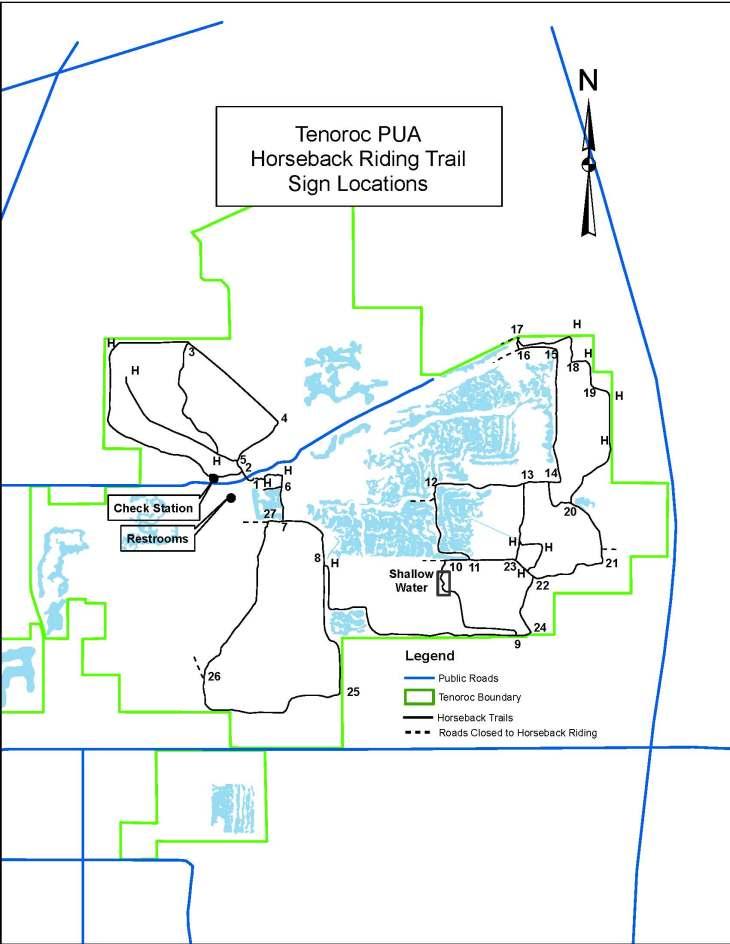 Tenoroc trails 5-16